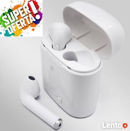 Bezprzewodowe słuchawki BLUETOOTH i7S iOS/ANDROI NOWY!