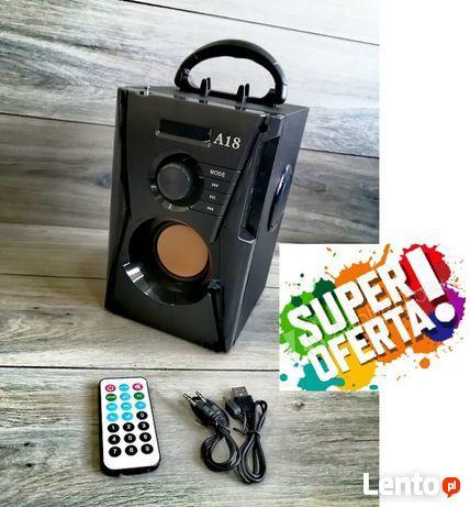 Multimedialny głośnik A18 SUPER BASS BLUETOOTH NOWY !