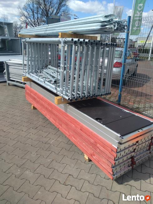 Rusztowanie ramowe typ PLETTAC 297,6 m2 - cena brutto