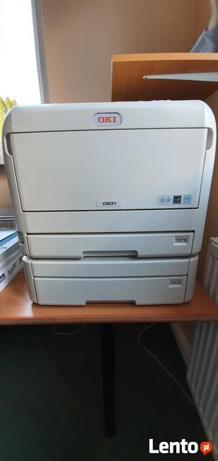 Szybka i ekono laserowa drukarka kolorowa A3/A4 OKI C831