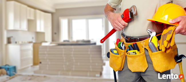 Złota rączka drobne naprawy domowe. Wykończenia wnętrz cała