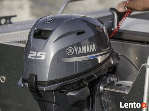 Silnik Zaburtowy Yamaha F25 GES/GEL 25 KM 5 Lat Gwarancji Nowy