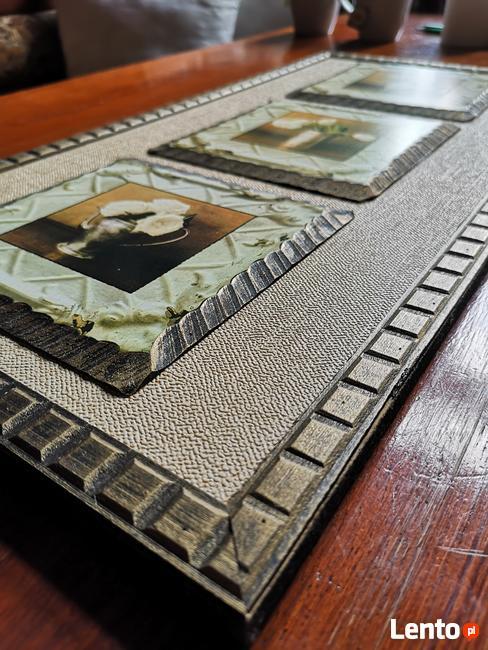 Obrazek drewniany (przestrzenny) - sprzedam