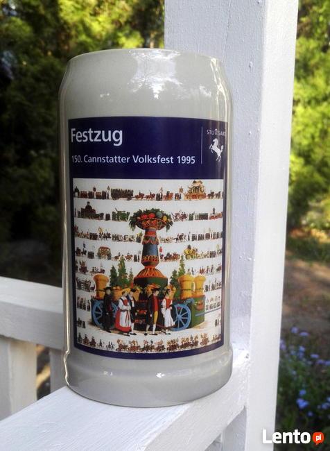 Kufel okolicznościowy festiwalu ludowego Cannstatt