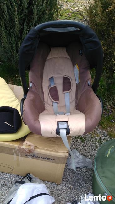 Wózek dziecięcy Xlander X-A duży zestaw 3w1