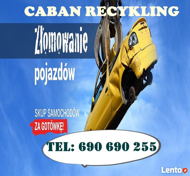 Auto Skup Złomowanie aut Łódź TEL 690690255 skup aut Łódź