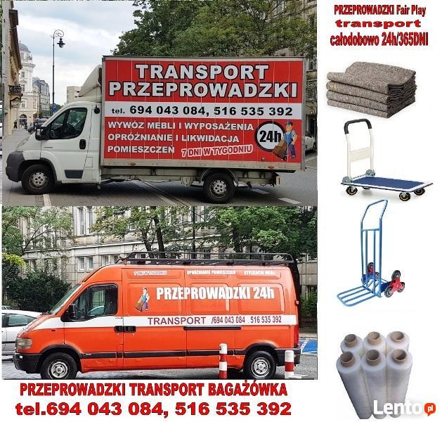 Fairplay-przeprowadzki transport tragarze najtaniej OCP