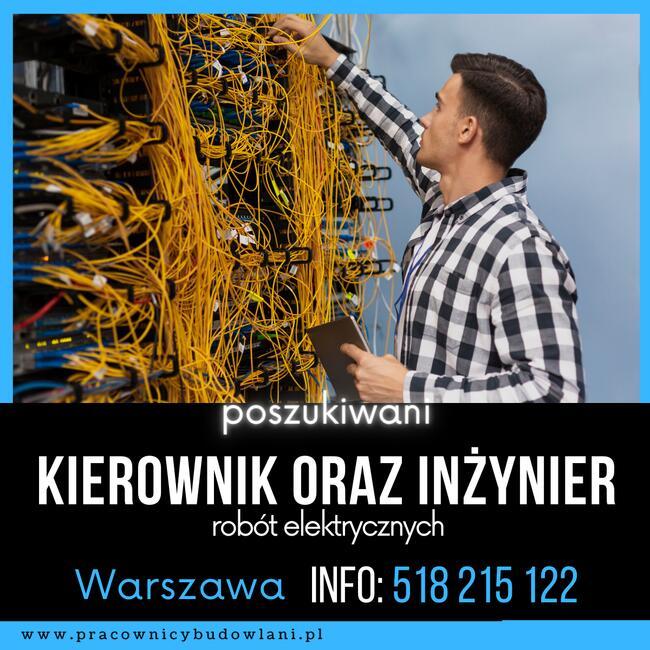Kierownik robót elektrycznych Warszawa