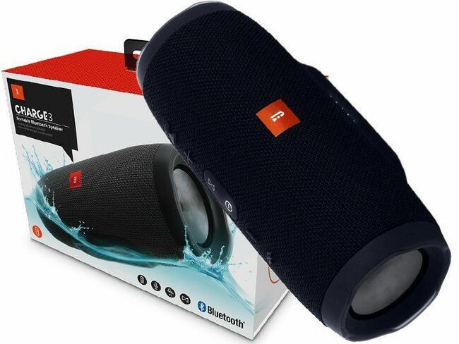 NOWY Bezprzewodowy głośnik / radio BLUETOOTH CHARGE 3 MP3