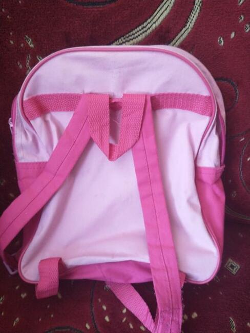Plecak i torebka księżniczki