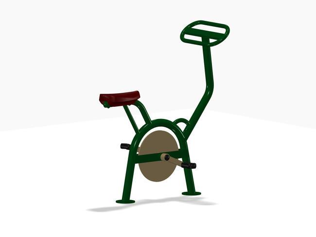 Rowerek - siłownia zewnętrzna