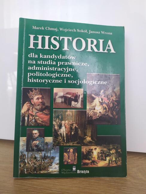 Historia dla kandydatów na studia praw/adm/polit/his/socj