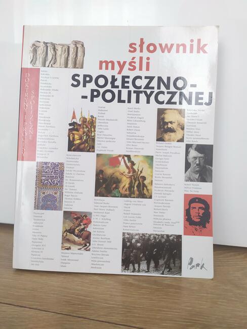 Sprzedam Słownik Myśli Społeczno-Politycznej