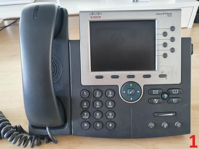Telefon stacjonarny Cisco IP Phone 7965 / 7970 !