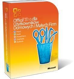 MS OFFICE 2010 dla Użytkowników Domowych i Małych Firm cena