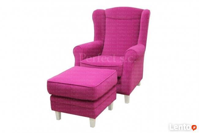 sprzedam zestaw sofe+fotel+podnozek