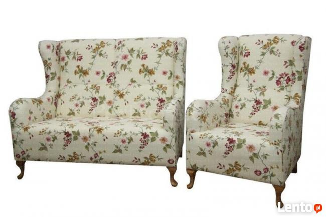 sprzedam fotel uszak ,podnozek i sofe