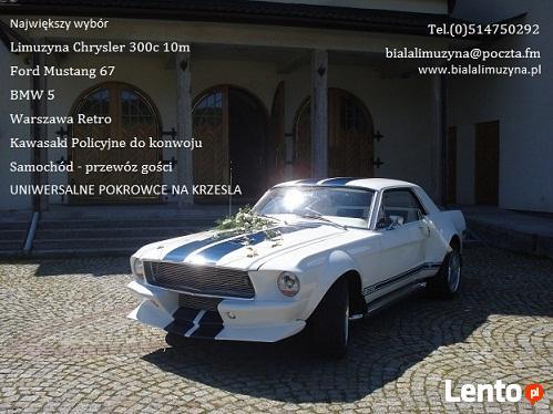 Limuzyna Chrysler 300c 10m Mustang retro Kraków Rzeszów