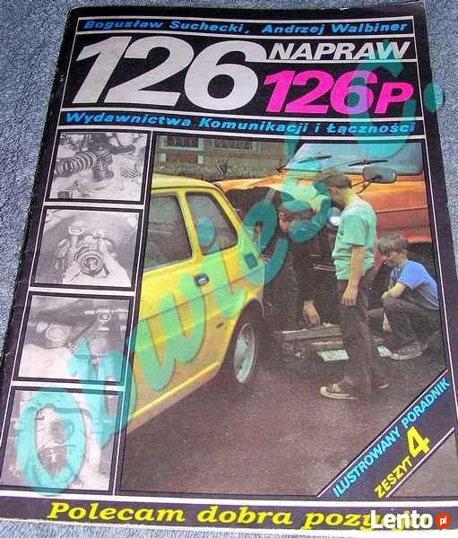 Naprawy FIAT – 126p. zeszyt – 4.