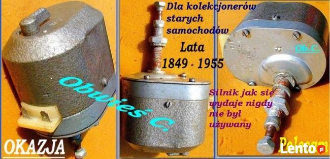 Zabytkowy silnik wycieraczki lat 1949 – 1960.