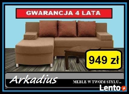 Narożnik ORLANDO Producent 4 Lata Gwarancji DOWÓZ GRATIS!
