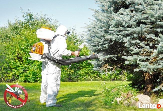 Odkomarzanie oprysk na komary Radzymin