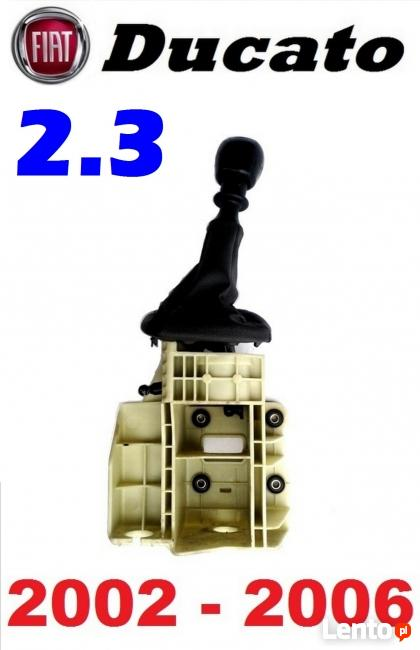 Lewarek gałka zmiany biegów wybierak FIAT DUCATO 2.3JTD 02-