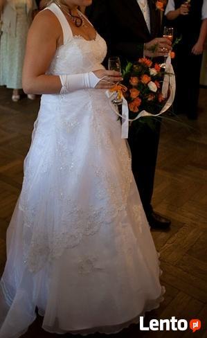 Suknia ślubna 42 44 Ciążowa Lub Nie Sznurowana Bielsko Biała
