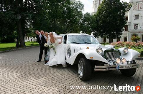 Auta do ślubu,zabytkowe samochody,limuzyny,excalibur,Tanio.