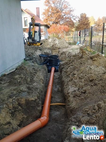 Instalacja systemów regulacji wody deszczowej AquaGarden