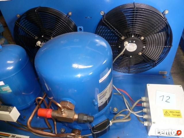Agregat chłodniczy chłodnica powietrza skraplacz