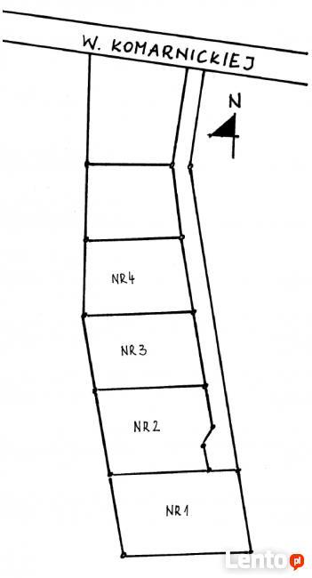 Uzbrojone działki budowlane w Wilkanowie