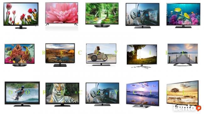 Telewizory LED, 3D, LCD, plazmowe