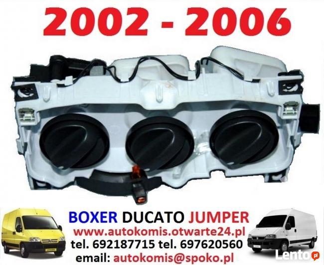 Panel nawiewu sterowania nawiewem FIAT DUCATO 2002-2006