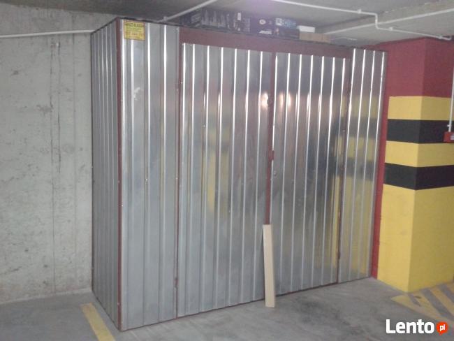 Zabudowa Miejsca Parkingowego Boks Garaż Komórka lokatorska