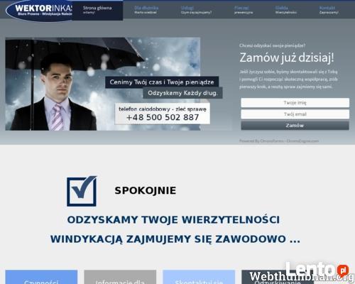 Firma Windykacyjna Katowice - Śląsk WEKTOR INKASO