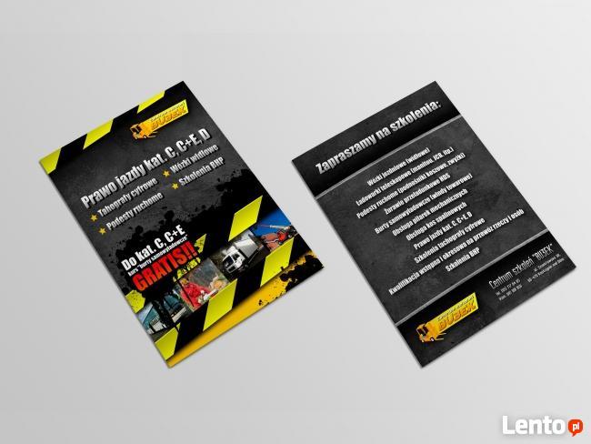 Poligrafia Drukarnia Ulotki Plakaty Wizytówki Foldery Kale