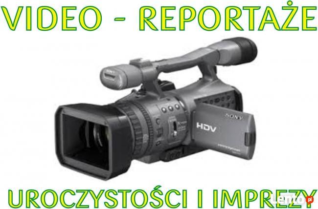Realizujemy reportaże filmowe z DNIA ŚLUBU