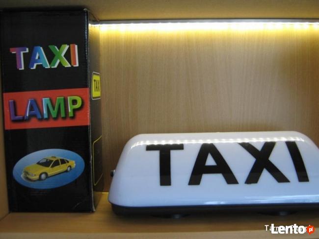 Lampy TAXI led 35 cm