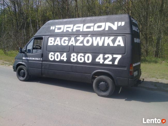 (40zl) bagażówka DRAGON -przeprowadzki ,magazynowanie mienia