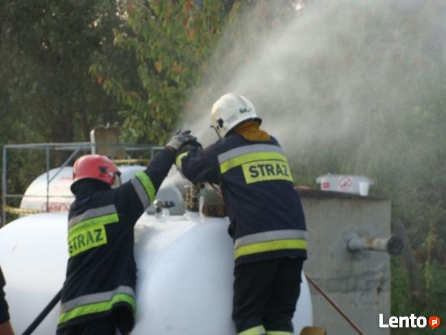 Spalanie gazu płynnego - LPG do 2 tyś. ltr fazy ciekłej / h