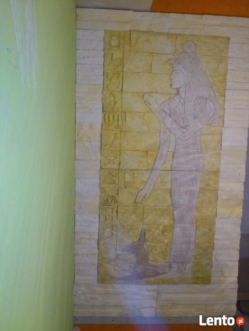 płaskorzezba gipsowa rzezba egipska egipt okazja producent