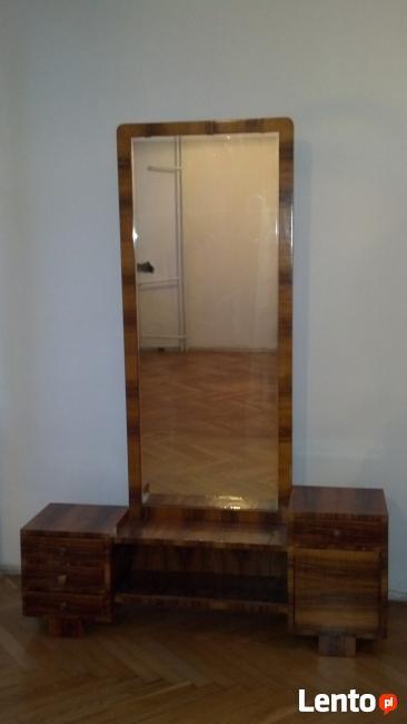 Stylowa toaletka art deco z lustrem