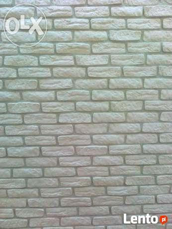płytka gipsowa imitacja starej cegły cegła z gipsu Okazja
