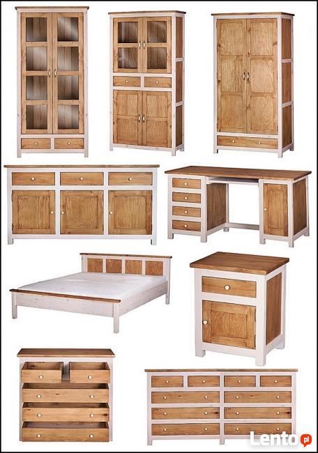 Nowe Drewniane Łóżka Modena 90,120,140,160,180,200 od