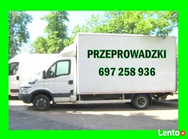 PRZEPROWADZKI - PRZEPROWADZKA - Transport tel 697 258 936