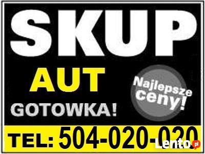 SKUP AUT POWYPADKOWYCH POZNAŃ I WLKP 0504-020-020 GOTÓWKA OD