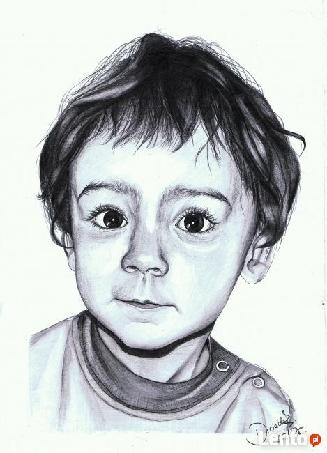 Portrety na zamówienie, rysunki IDEALNY PREZENT ŚWIĄTECZNY