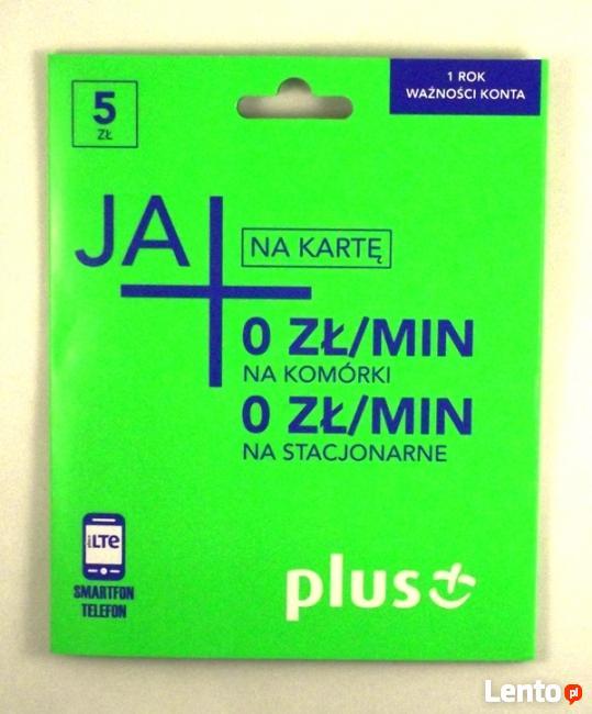Plus GSM Starter 5 zł rozmowy, sms 0 zł