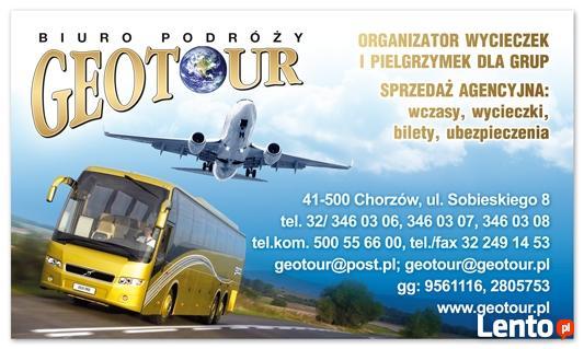 Bilet autobusowy na trasie Katowice - Kopenhaga od 340 zł !